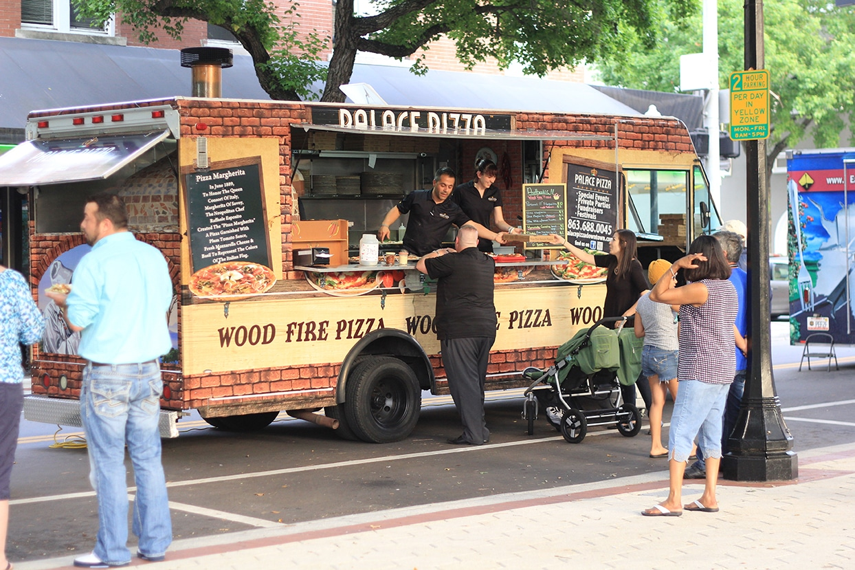 Palace Pizza Downtown Lakeland Florida Food Truck 1